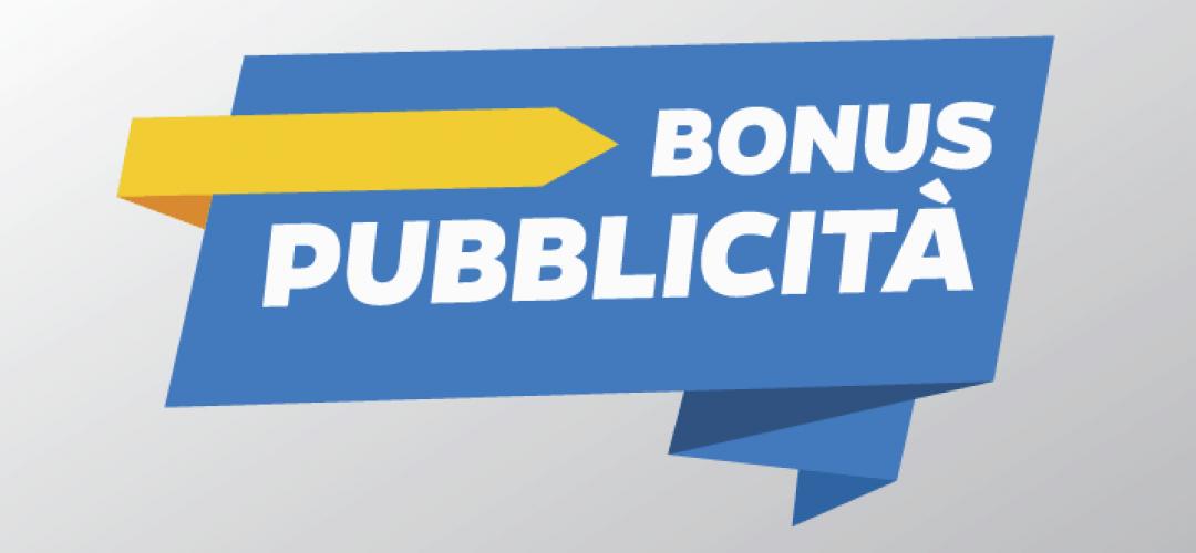 Conferme entro l'8 febbraio per il Bonus pubblicità.
