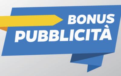 Riaperti i termini del Bonus Pubblicità