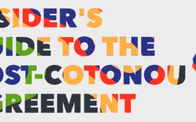 UE e paesi ACP. Una guida per capire meglio l'accordo Post-Cotonou